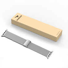 SWEES Stainless Steel Metal Small Large Thin Replacement Compatible for Apple Watch 42mm 44mm Series 5/4/3/2/1 Sport Edition Women Men, Silver