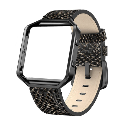 Fitbit Blaze Bands Leather Strap Large 6.2