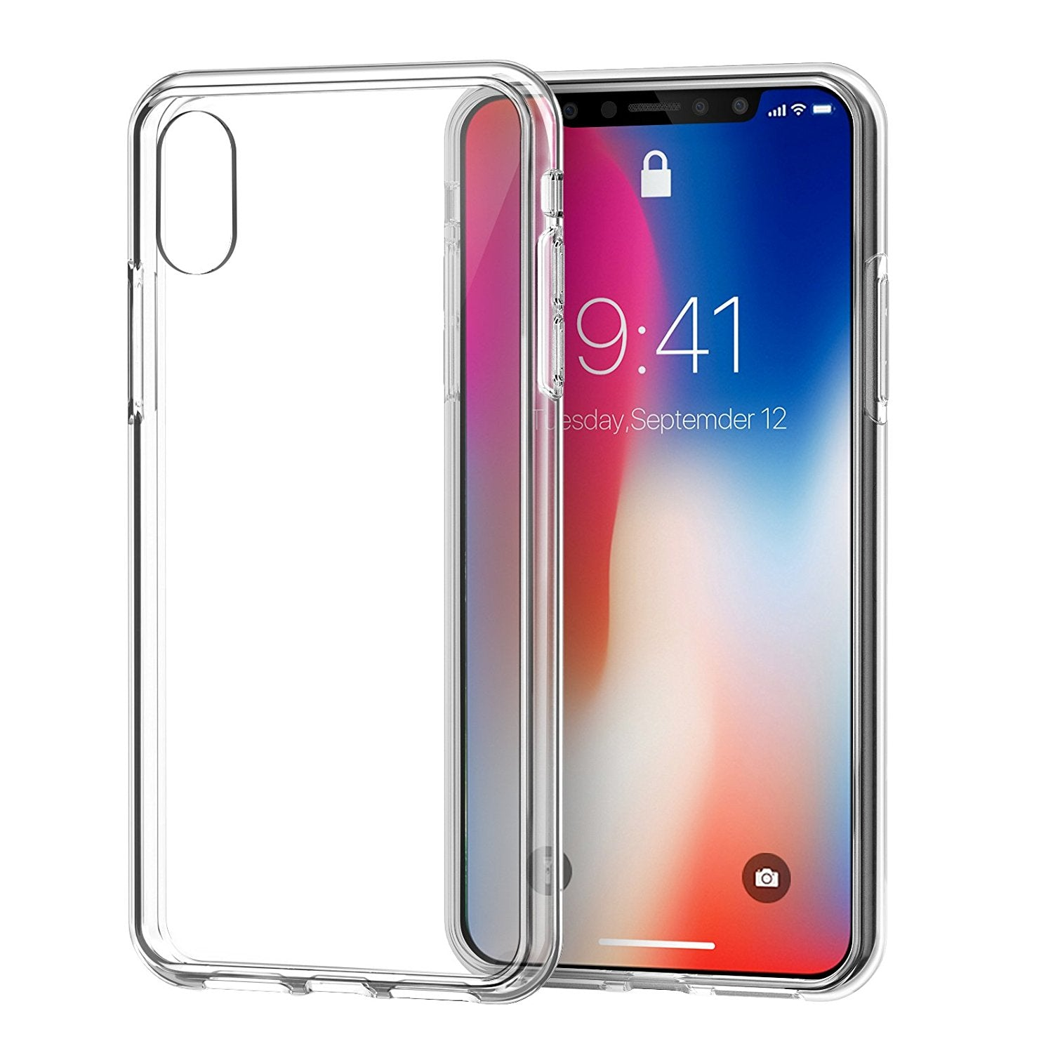 info for 8783b f48f4 Best Clear Cases for IPhone X Case With Shockproof TPU Bumper ...