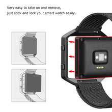 "Fitbit Blaze Bands  Metal  Strap Large 5.8"" - 9.4"""