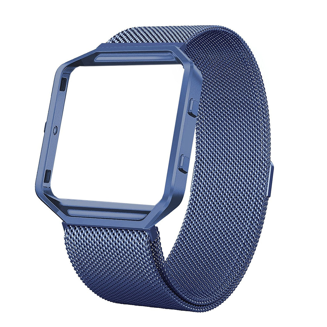 Fitbit Blaze Bands  Metal  Strap Large 5.8