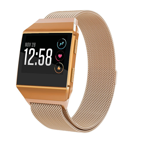 Fitbit Ionic Bands Milanese Metal Strap  Large 6.1