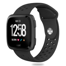 "Wear Fitbit Versa your way with this interchangeable band in two-one silicone,fits wrist length 5.5""-8.1""(140mm-205mm). Making sports stylish"