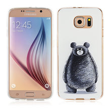Galaxy S6 Case-3D Relief Printing Pattern Design/Animal