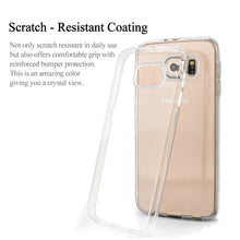 Galaxy S6 Case-Crystal Clear Design