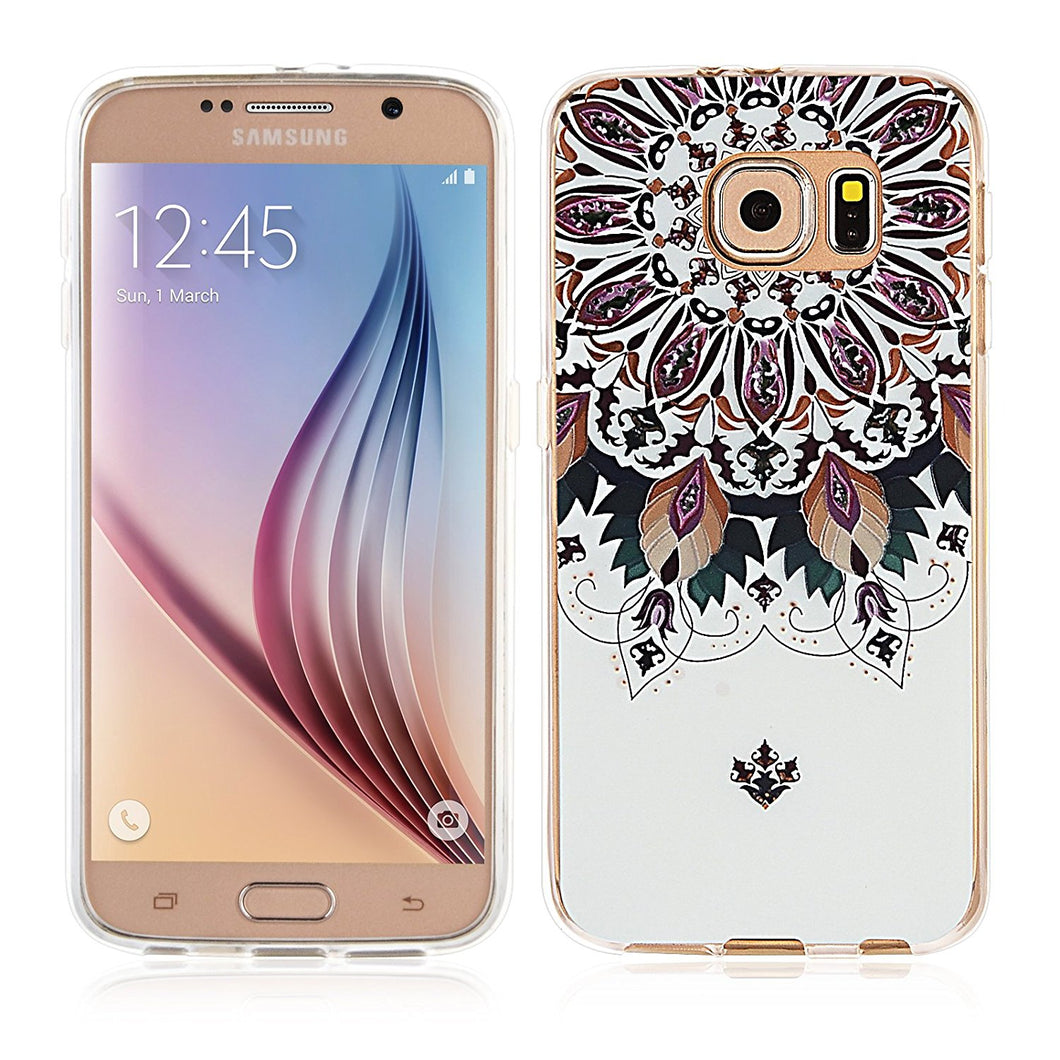 Galaxy S6 Case-3D Relief Printing Pattern Design/Spring