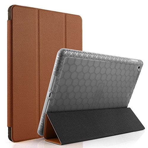 new product 62c70 c7b42 Swees Case for iPad 9.7 2017/2018 with Pencil Holder, Shockproof Smart Case  Trifold Stand with Auto Sleep/Wake Function Built-in Apple Pencil Holder ...
