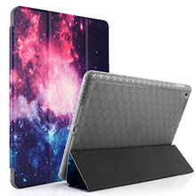 Swees Case for iPad 9.7 2017/2018 with Pencil Holder, Shockproof Smart Case Trifold Stand with Auto Sleep/Wake Function Built-in Apple Pencil Holder for iPad 9.7 inch 5th/6th Generation