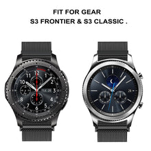 "Gear S3 Frontier / Classic  Milanese Metal Band 6.3"" – 10.6"""