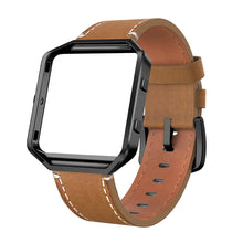 "Fitbit Blaze Bands Leather Strap Large 6.2""-8.2"""