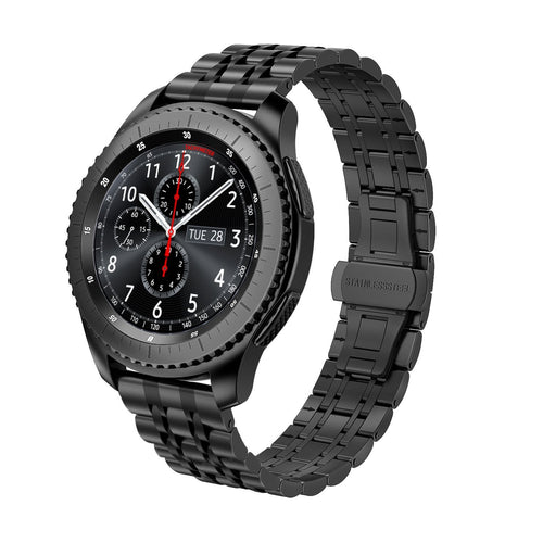 Gear S3 Frontier/Classic Bands Stainless Steel Metal Link