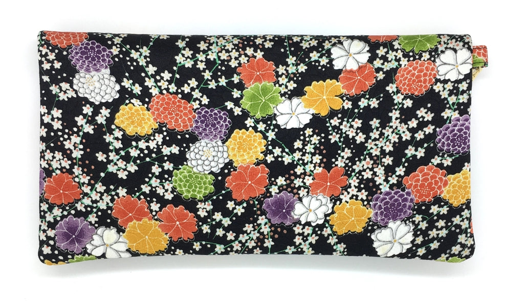 Kuukuo Folding Wristlet Clutch - 3526E