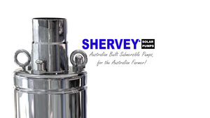 Shervey Solar Water Pumps are built in our Australian Factory.  Located in the Bundaberg Region of Queensland Shervey Solar Water Pumps pride themselves on quality products and services.
