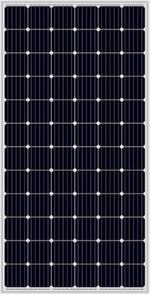 Load image into Gallery viewer, a close up of the black solar panel used in the Solar Pump Install