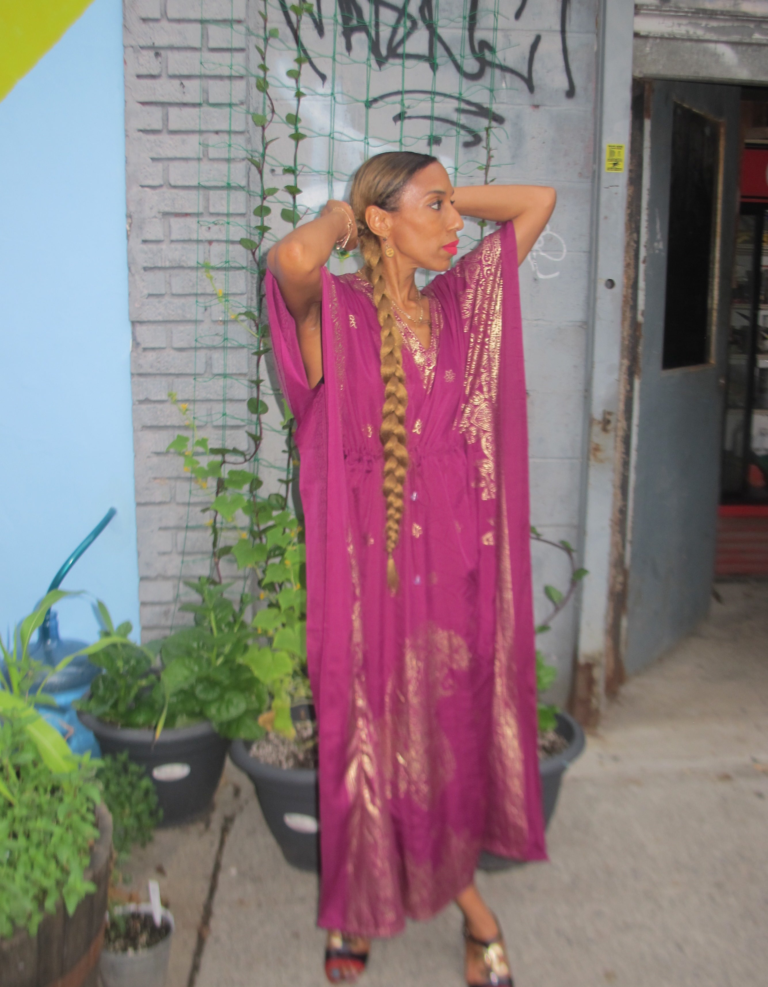 NOK Copper Gypsy Henna Kaftan