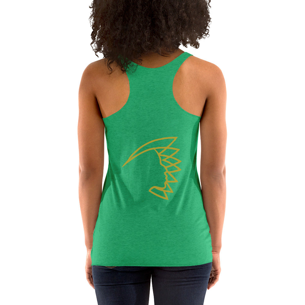 I Have My Happy Women's Racerback Tank