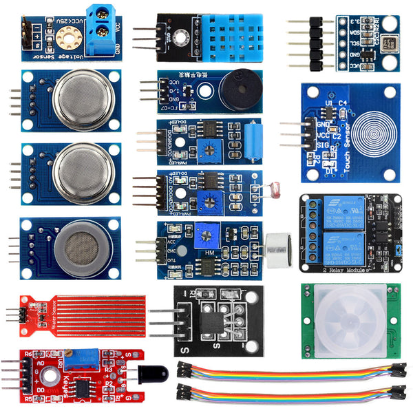 Raspberry Pi Sensor Modules Project Starter Kits