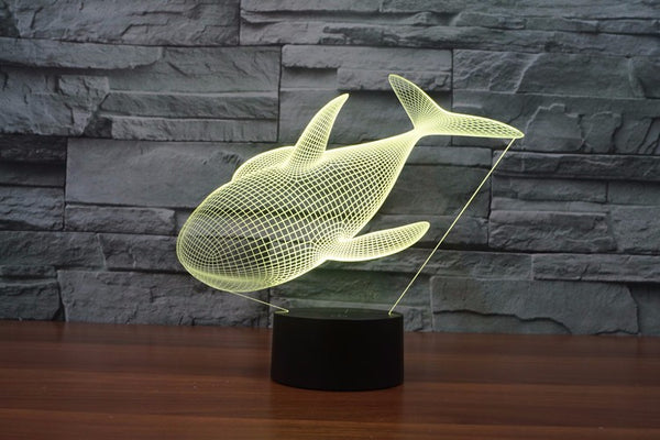 Cute Desk Lamps Whale Night Light Lamp