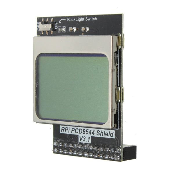 Raspberry Pi CPU Memory 84x48 Mini LCD screen