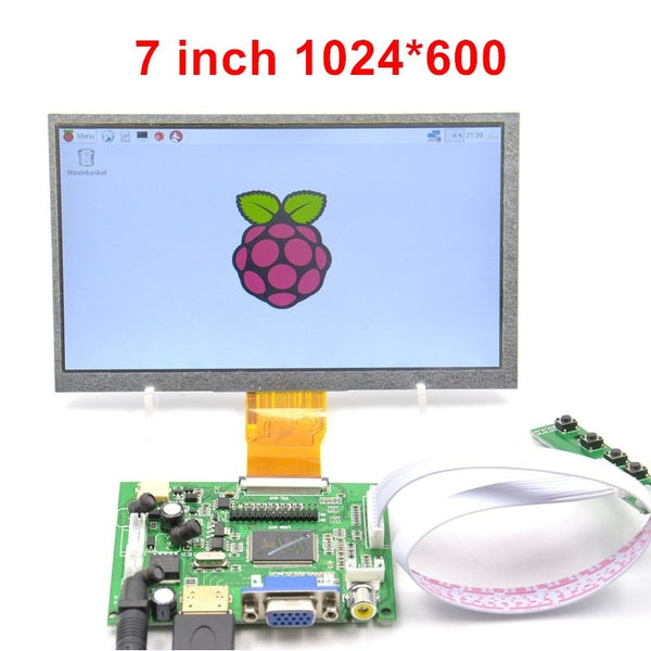 "Raspberry Pi 7""  Inch Lcd Dispaly with kit"