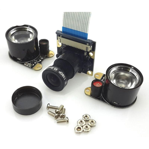 Raspberry Pi 2 Fish eye Lens  Camera Wide Angle Remote Control Monitor