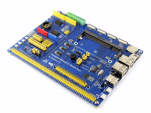 Composite Breakout Board for Developing with Raspberry Pi