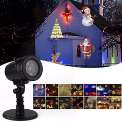 LED Waterproof Disco Lights Home Garden Projection Indoor Decoration