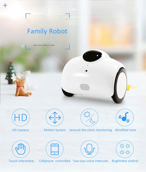 RC robot Ranababy Patrol Monitoring Remote Smartphone control Video