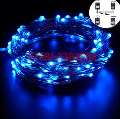 Remote Led String Fairy Lights Outdoor Waterproof Garden Wedding Halloween
