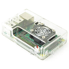 Raspberry PI 3 model B Transparent Clear Case Cover Shell