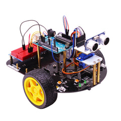Intelligent Vehicle Obstacle Avoidance Tracking Tobot