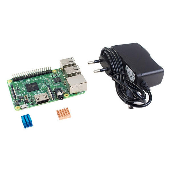 Raspberry Pi 3 Model B Bundle Quad Core CPU