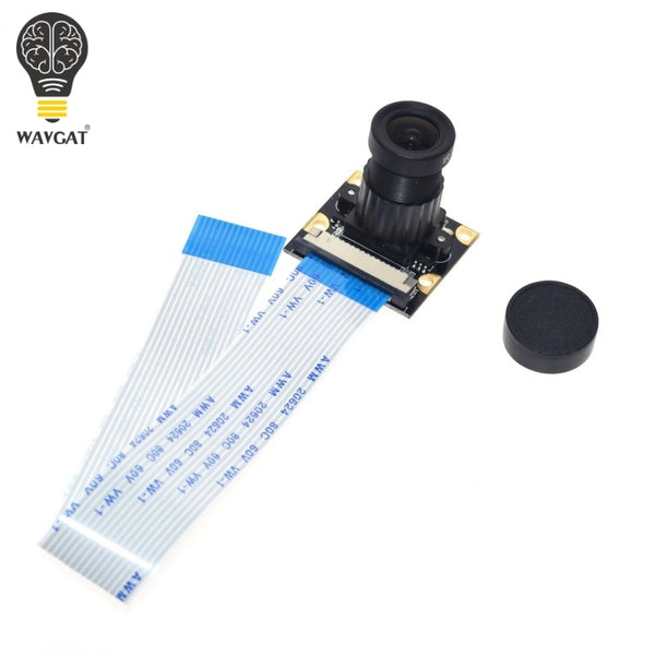 Raspberry Pi 3 Camera Focal Adjustable Night Vision 5 MP Camera Module Support Raspberry Pi 2/3 Model B + Free 50 FFC
