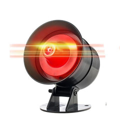 Wireless Loud Security Siren Rapid Code Strobe Siren Alarm Sound Flash Alarm System