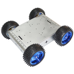 Four Wheel Drive Car Learning Kit for Arduino Line Tracking Obstacle Avoidance