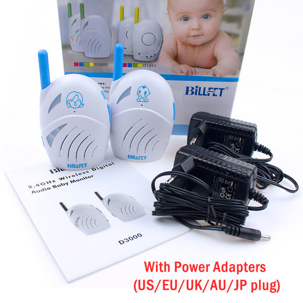 Babysitter Radio Nanny Baby Walkie Talkie Wireless Audio Baby Monitor