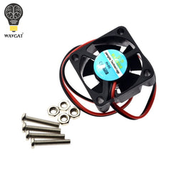 Raspberry PI Fan, Active Cooling Fan for Customized Acrylic Case / 5V plug-in and play/Support raspberry pi model B Plus