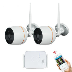 CCTV Security Camera System Wifi Mini NVR Kit Video Surveillance Home Wireless IP Camera