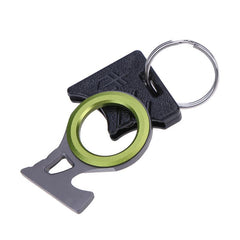 Outdoor Survival Emergency Rescue Blade Hook Knife Finger Thumb