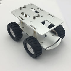 Smarts Metal Car Chassis RC Tank Car Truck Robot CNC Alloy