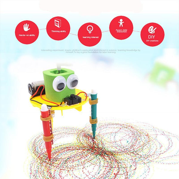 Children Physical Scientific Experiment Creativity Learning Educational Toy