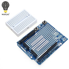 UNO Proto Shield prototype expansion board with SYB-170 mini bread board based For ARDUINO UNO ProtoShield