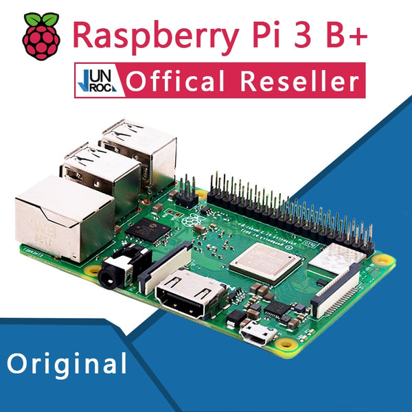 Raspberry Pi 3 Model B+ Plus  Pi 3B+ Linux Demo Board Python Programming Mini PC