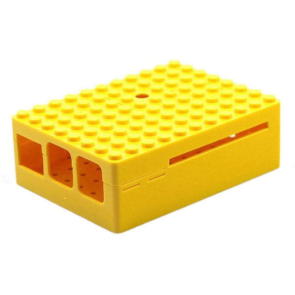 Top Deals Protective Case w shape Camera Hole for Raspberry Pi - Black/Yellow/White/Red
