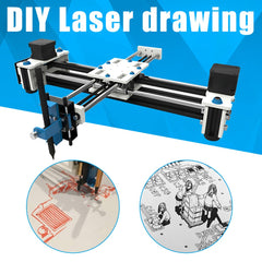 Plotter Pen USB DIY Laser Drawing Machine Engraving Area Drawing Robot