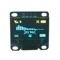 Yellow Blue  LCD LED Display Module for Arduino Raspberry PI