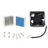 Raspberry pi 2Pcs Aluminum Heat Sink and Mute Cooling Fan