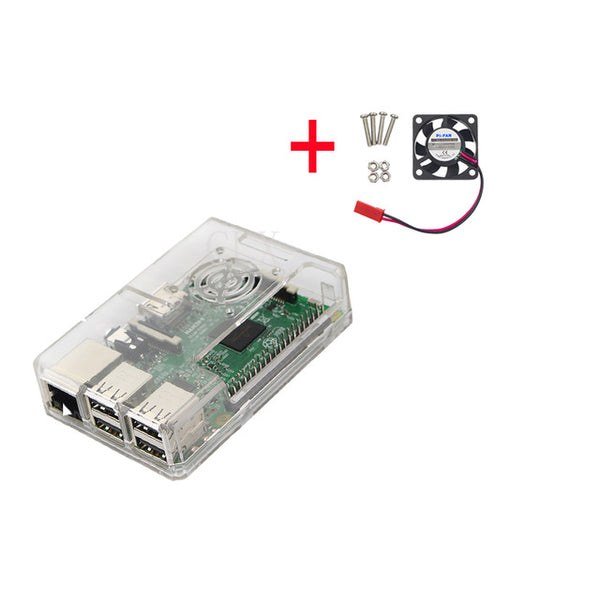 Raspberry Pi 3 ABS Case Transparent
