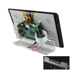 Transparent Acrylic Bracket for Raspberry Pi 7 inch Touchscreen Display