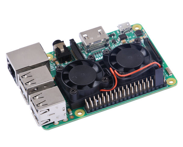 Raspberry pi 3 Model B+ Dual Fan Ultimate Heatsink Cooler